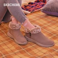 1日0点截止 : SKECHERS 斯凯奇 144003 女款保暖加绒雪地靴