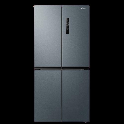 Midea 美的 465L十字对开双开四门家用纤薄无霜智能家电冰箱