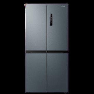 Midea 美的 BCD-465WTPZM(E) 变频风冷十字对开门冰箱 465L  炫晶灰