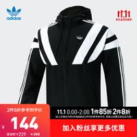 阿迪达斯官方 adidas 三叶草 BLNT 96 WB 男子外套EE2344 黑色 M(参考身高:179~185CM)