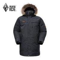 BLACK ICE 黑冰 F8521 男士700蓬中长款鹅绒羽绒服