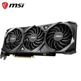 MSI 微星 万图师 GeForce RTX 3070 VENTUS 3X 8G OC 超频版 三风扇 电脑显卡