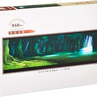 950片 *拼图 吉卜力工作室背景美术系列 公主 西西西神之森 (34x102cm)