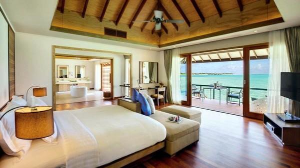 官宣可出境起6个月有效期!马尔代夫 神仙珊瑚岛 2晚沙滩泳池别墅+2晚豪华水上泳池套房 度假套餐