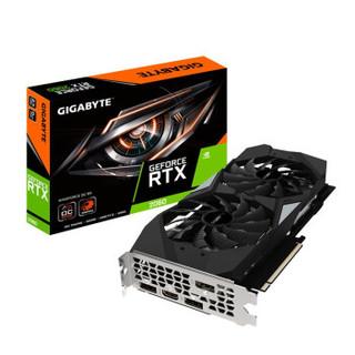 技嘉  GeForce RTX 2060 WF2 (风魔) OC 6G 显卡