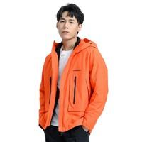 TOREAD 探路者 X 男士冲锋衣 TAWI91499 橙红 S
