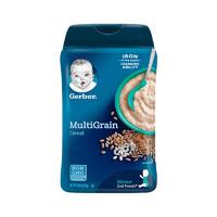 嘉宝(Gerber)混合谷物米粉 2段 227克/罐装 原装进口 6个月以上 *2件