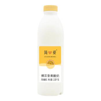 简爱 百香果裸酸奶 1.08kg