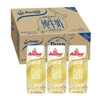 安佳 全脂纯牛奶  258g*24盒