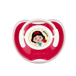 贝亲 (Pigeon) 安抚奶嘴 贝亲奶嘴 硅橡胶奶嘴 L号 6个月以上 Disney迪士尼 白雪公主-红苹果 N950 *6件