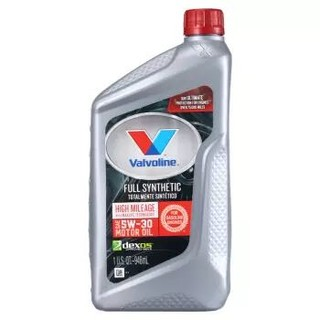 Valvoline 胜牌 高里程 星冠MAX LIFE 全合成机油 5W-30 SN 5QT