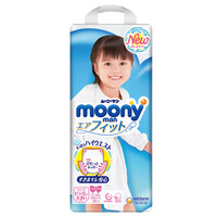 moony 畅透系列 女宝宝拉拉裤 XXL26片 *4件