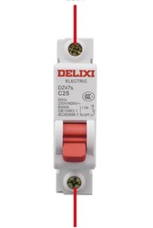 DELIXI ELECTRIC 德力西电气 家用断路器电闸 10A 1P