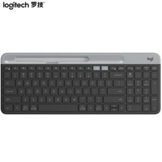 Logitech 罗技 K580 键盘 无线蓝牙键盘  星空灰