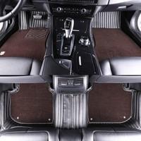 五福金牛 星辰 全包圍汽車腳墊 碳纖紋雙層