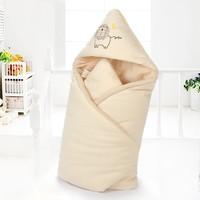 自然密码 婴儿抱毯襁褓被 秋冬款 90*90cm