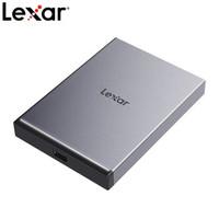 历史低价:Lexar 雷克沙 SL210 移动固态硬盘 500G Type-C