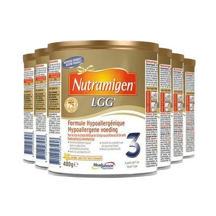 美赞臣 Nutramigen LGG安敏健深度水解抗过敏奶粉3段 400g*6罐 荷兰版