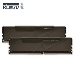 KLEVV 科赋 BOLT X DDR4 16G(8GBx2) 台式机内存 3200 雷霆马甲