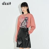 dzzit 地素 3C1B5081A 女士高飞联名t恤