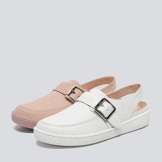 京东PLUS会员 : hush puppies 暇步士 R1K13BH0 女士沙滩凉鞋