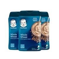 Gerber 嘉宝 婴幼儿全麦谷物米粉 2段 227g*3罐(8个月以上)