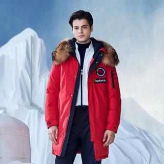 限尺码 : BOSIDENG 波司登 极寒系列 B80142147 男中长款羽绒服