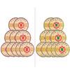 Chinatea 中茶 普洱茶饼组合装 150g*20饼 (7541 普洱生茶 10饼+7571 普洱熟茶 10饼)
