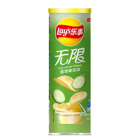 Lay's 乐事 无限薯片 翡翠黄瓜味 104g*10罐