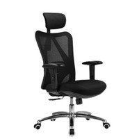 PLUS会员:SIHOO 西昊 M18 人体工学电脑椅子 黑色
