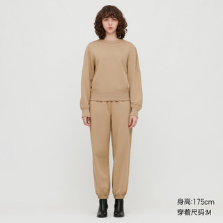 UNIQLO 优衣库 UQ430866000 女装圆领运动衫