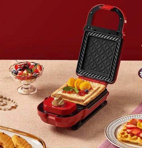 德国蓝宝轻食机家用早餐机吐司压烤机三明治机华夫饼简餐机电饼铛