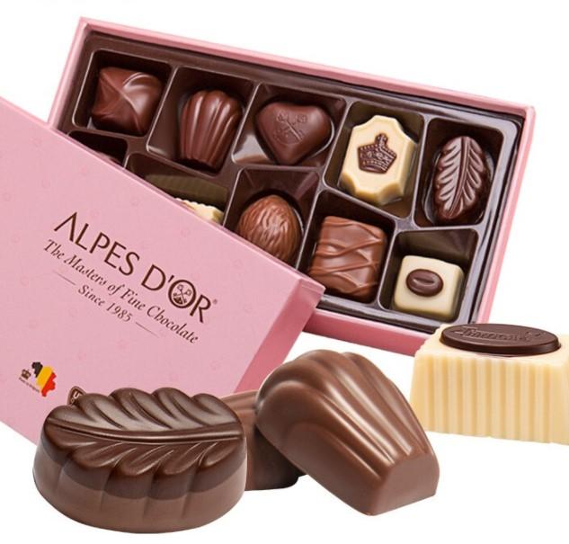 Alpes d'Or 爱普诗 巧克力礼盒 108g