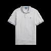 RALPH LAUREN 拉尔夫·劳伦 男士翻领修身短袖T恤MNPOKNI1N820585 灰色XS