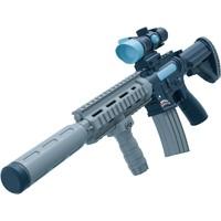 砺能玩具 百变磁力拼装枪 孔雀蓝 送充电套装