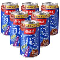 杨协成 马蹄爽 荸荠果汁果肉饮料 300ml*6听  新加坡百年品牌  新老包装随机发货 *9件
