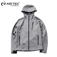 AIRTEX 亚特 AIR TEX AT1A18MJ019X 男士户外软壳冲锋衣
