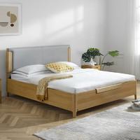 KUKa 顾家家居 PTDK326B 现代简约实木储物柜床 1.5/1.8*2m
