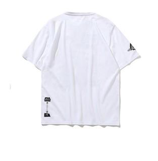 LI-NING 李宁 星球大战联名系列 男士运动T恤 AHSP733-2 标准白 XL