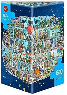 Heye 29841 Spaceship,Adolfsson 三角拼图