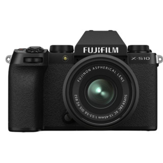 FUJIFILM 富士 X-S10 微单相机 套机 15-45mm 黑色