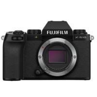FUJIFILM 富士 X-S10 微单相机 单机身 上市套装 黑色