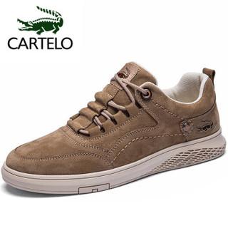 CARTELO 卡帝乐鳄鱼 QH2015 男士休闲鞋