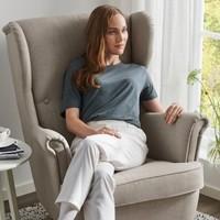 IKEA 宜家 斯佳蒙 靠背椅  斯科特伯 淡米色