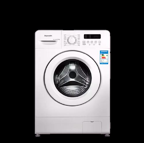 SKYWORTH   F60A 全自动滚筒洗衣机 6kg 白色