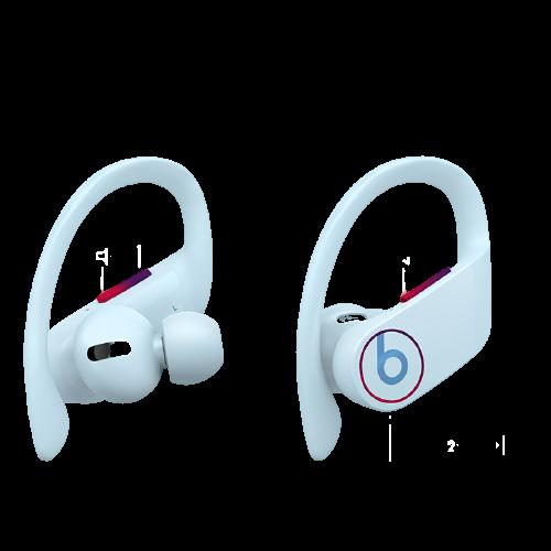 Beats PowerBeats pro 入耳式蓝牙无线耳机 冰川蓝