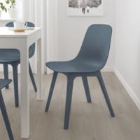 IKEA 宜家 ODGER 奥德格 椅子 蓝色