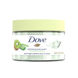 Dove 多芬  奇异果和芦荟冰淇淋身体磨砂膏 298g