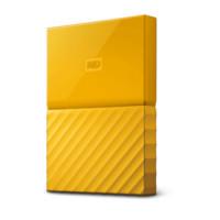 银联返现购:Western Digital 西部数据 My Passport 2tb 黄色移动硬盘