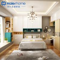 海尔全屋 定制榻榻米床卧室整体榻榻米衣柜书桌一体 H8-6